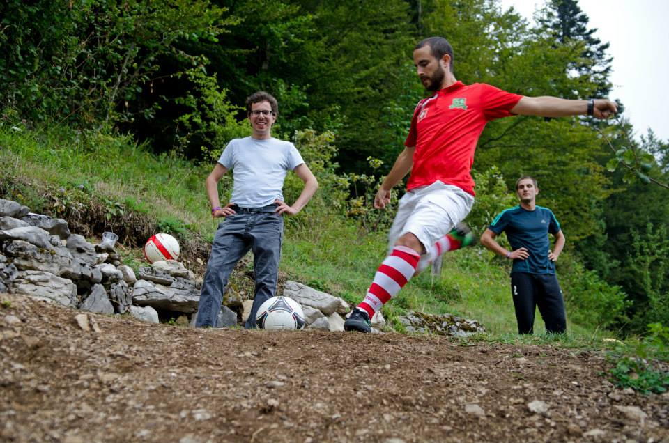 St-Cergue footgolf julien